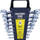 Ajay Double Ended Open Jaw Spanner ( 8 Pcs. Set ) In Box
