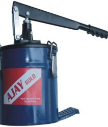 Ajay Bucket Grease Pump With Trolly 6 Kgs
