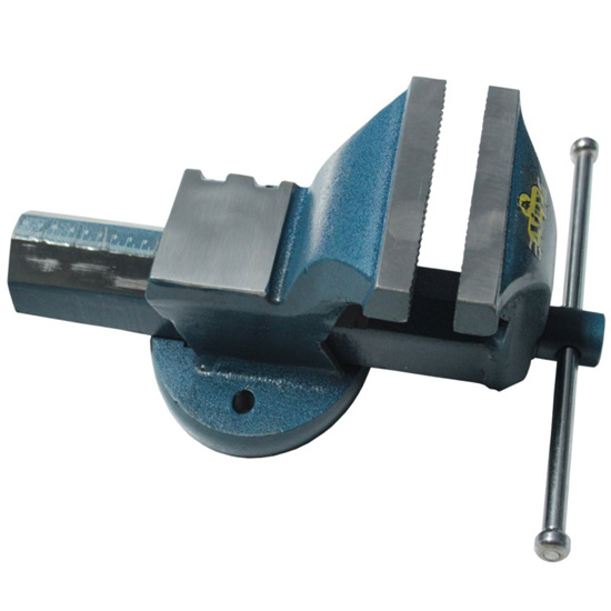 Ajay Tools All Steel Bench Vice Drop Forged 4 100mm Fixed Base